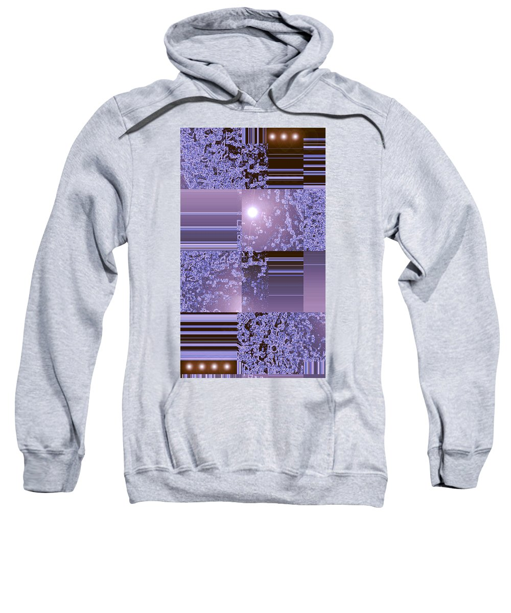 Moveonart! Digital Gallery Sweatshirt featuring the digital art Moveonart Inter Dimensional Shift Two by Jacob Kanduch