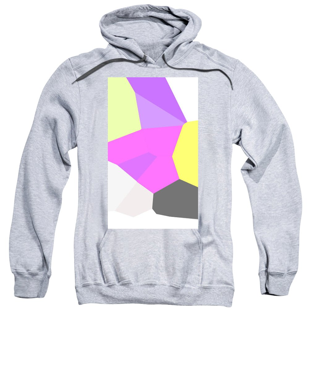 Moveonart! Digital Gallery Sweatshirt featuring the digital art Moveonart Just Minimal One by Jacob Kanduch