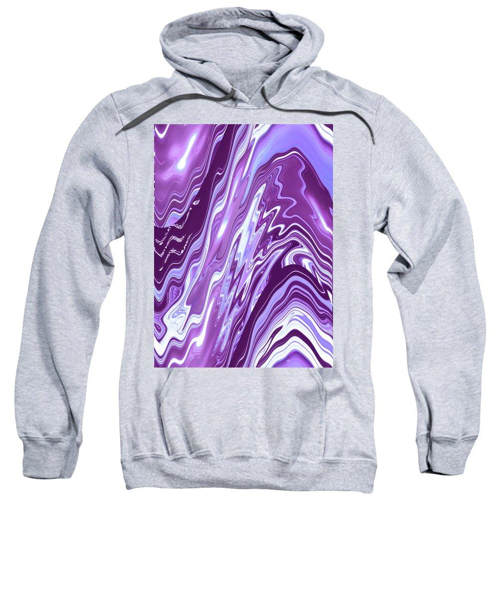 Moveonart! Digital Gallery Sweatshirt featuring the digital art Moveonart Letting Go Two by Jacob Kanduch