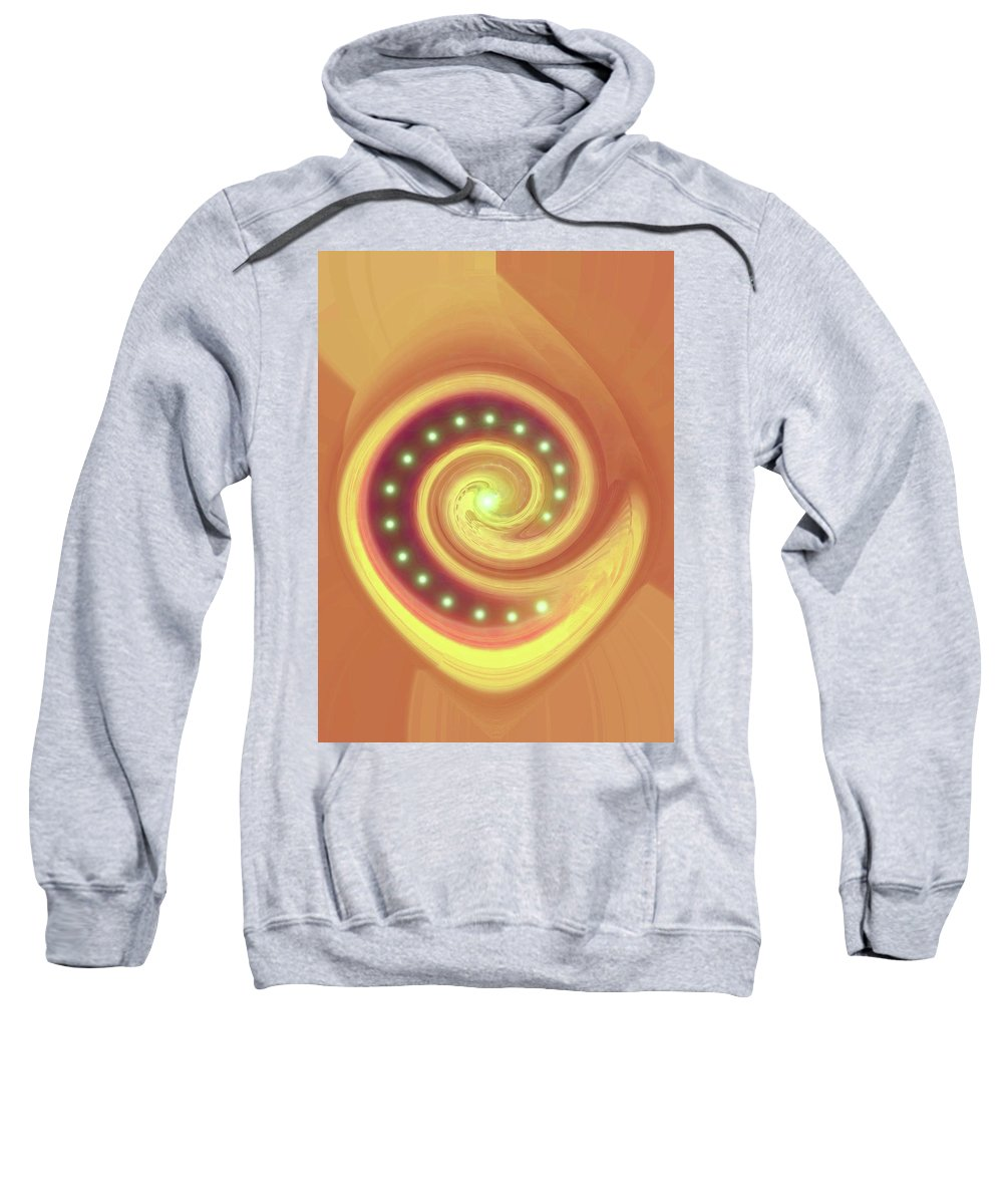 Moveonart! Global Gathering. -- Jacob Kane -- Omnetra Sweatshirt featuring the digital art Moveonart Millenium Society by Jacob Kanduch