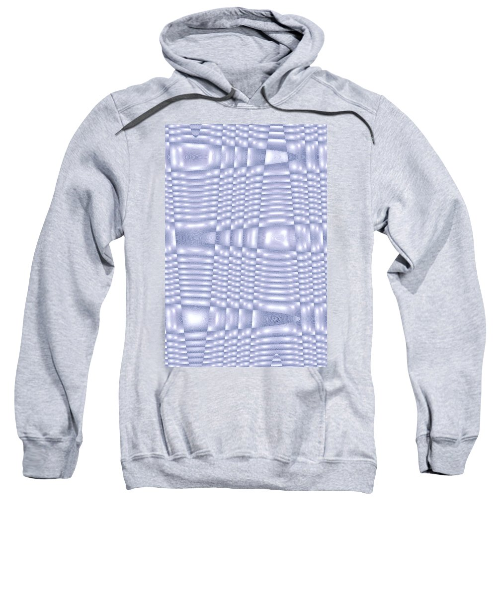 Moveonart Digital Gallery San Francisco California Lower Nob Hill Jacob Kane Kanduch Sweatshirt featuring the digital art Moveonart More About Silver 1 by Jacob Kanduch
