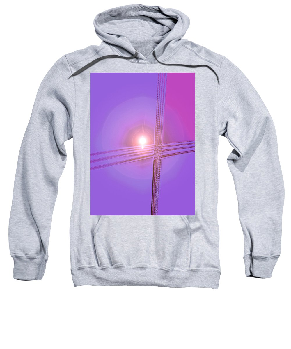 Moveonart! Digital Gallery Sweatshirt featuring the digital art Moveonart Shift In Time 2 by Jacob Kanduch