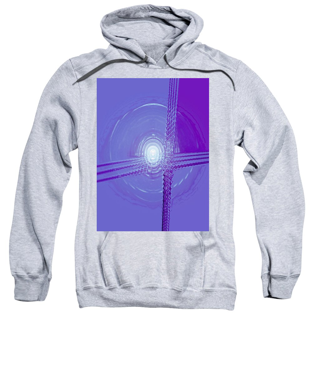 Moveonart! Digital Gallery Sweatshirt featuring the digital art Moveonart Shift In Time 3 by Jacob Kanduch