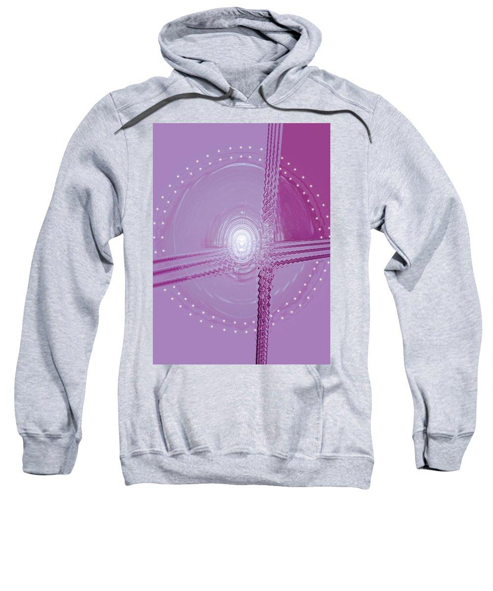 Moveonart! Digital Gallery Sweatshirt featuring the digital art Moveonart Shift In Time 5 by Jacob Kanduch