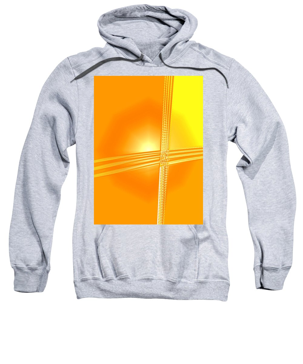 Moveonart! Digital Gallery Sweatshirt featuring the digital art Moveonart Shift In Time One by Jacob Kanduch