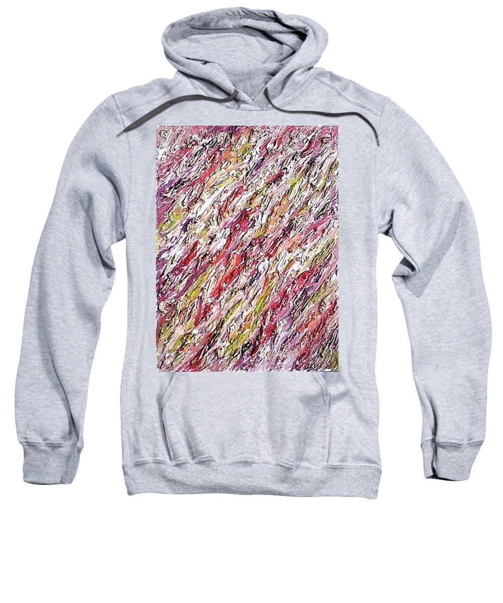 Moveonart! Digital Gallery Sweatshirt featuring the painting Moveonart St Clare Hotel Room by Jacob Kanduch