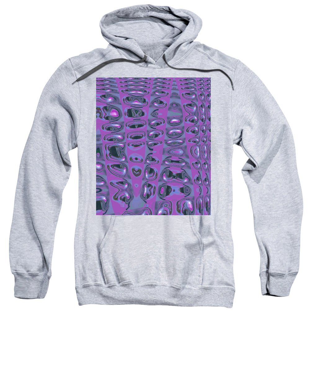 Moveonart! Digital Gallery Sweatshirt featuring the digital art Moveonart Touched 3 by Jacob Kanduch