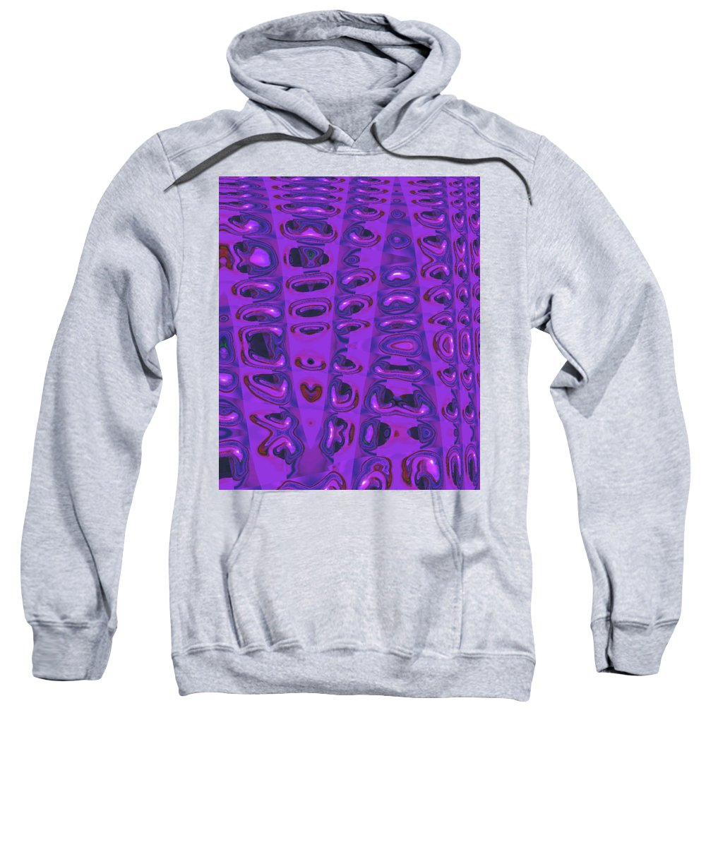Moveonart! Digital Gallery Sweatshirt featuring the digital art Moveonart Touched 5 by Jacob Kanduch