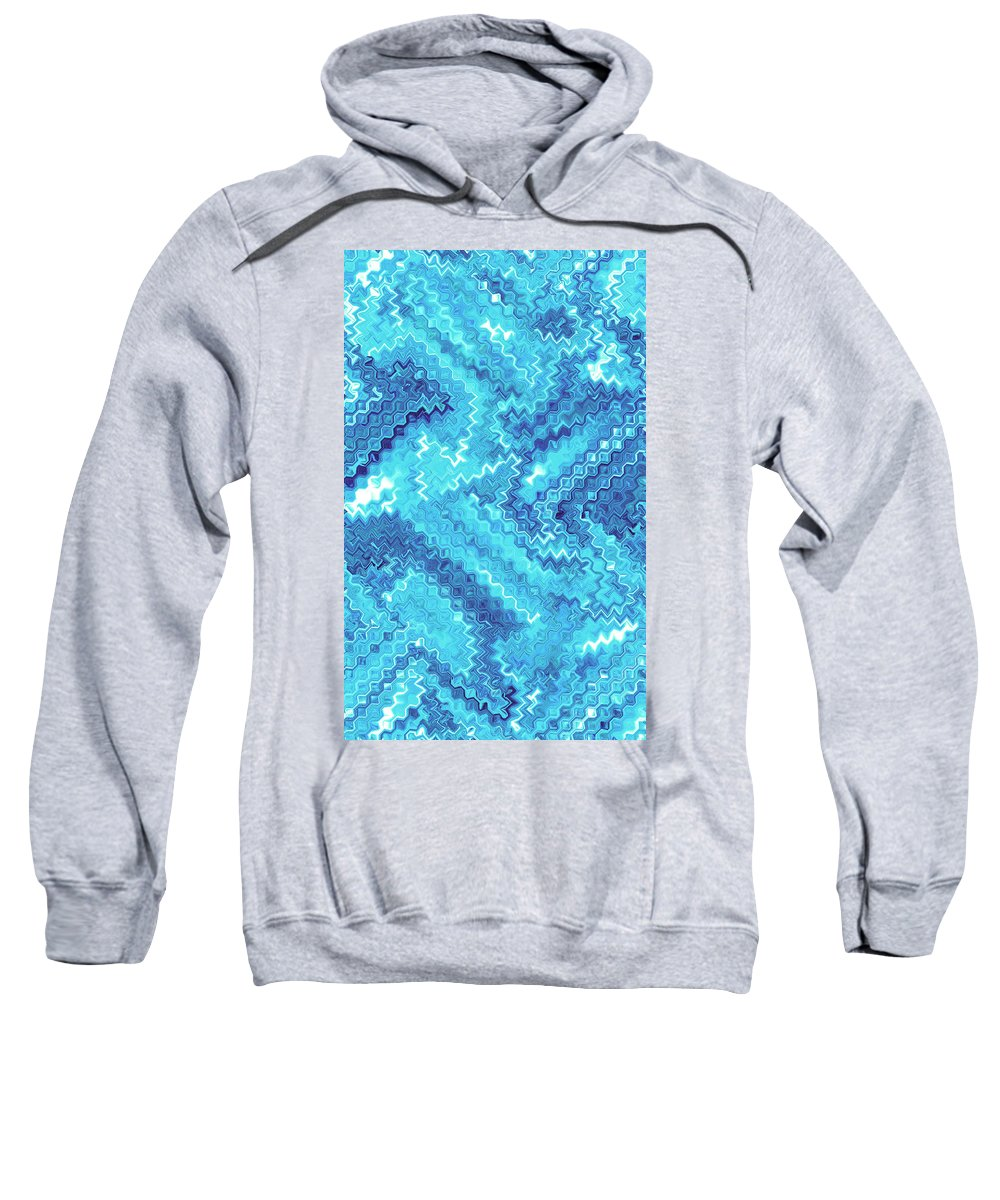 Moveonart Digital Gallery San Francisco California Lower Nob Hill Jacob Kane Kanduch Sweatshirt featuring the digital art Moveonart Tranquil Cool by Jacob Kanduch