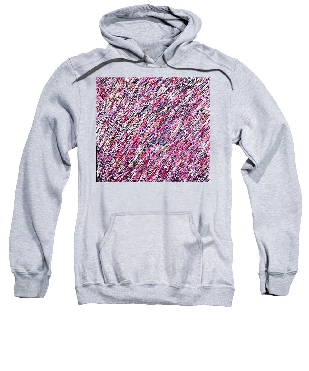 Moveonart! Digital Gallery Sweatshirt featuring the painting Moveonart Untitled 2 2005 by Jacob Kanduch