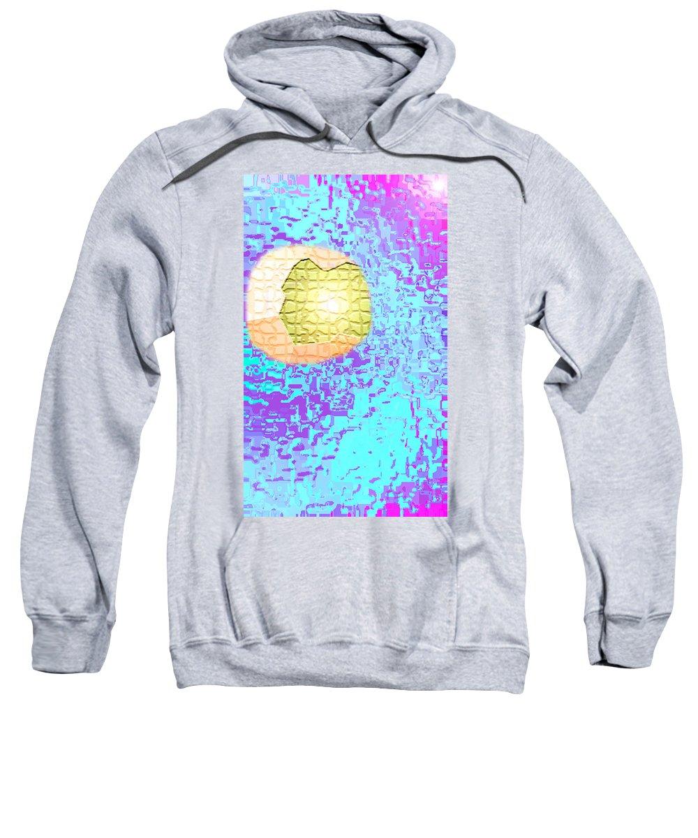 Moveonart! Digital Gallery Sweatshirt featuring the digital art Moveonart Urban Light Worker by Jacob Kanduch