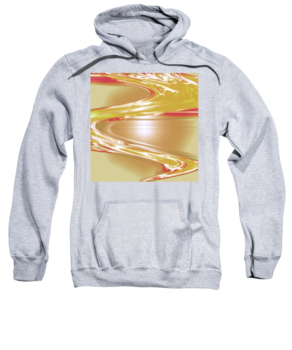 Moveonart! Digital Gallery Sweatshirt featuring the digital art Moveonart Wave Of The Annointing by Jacob Kanduch