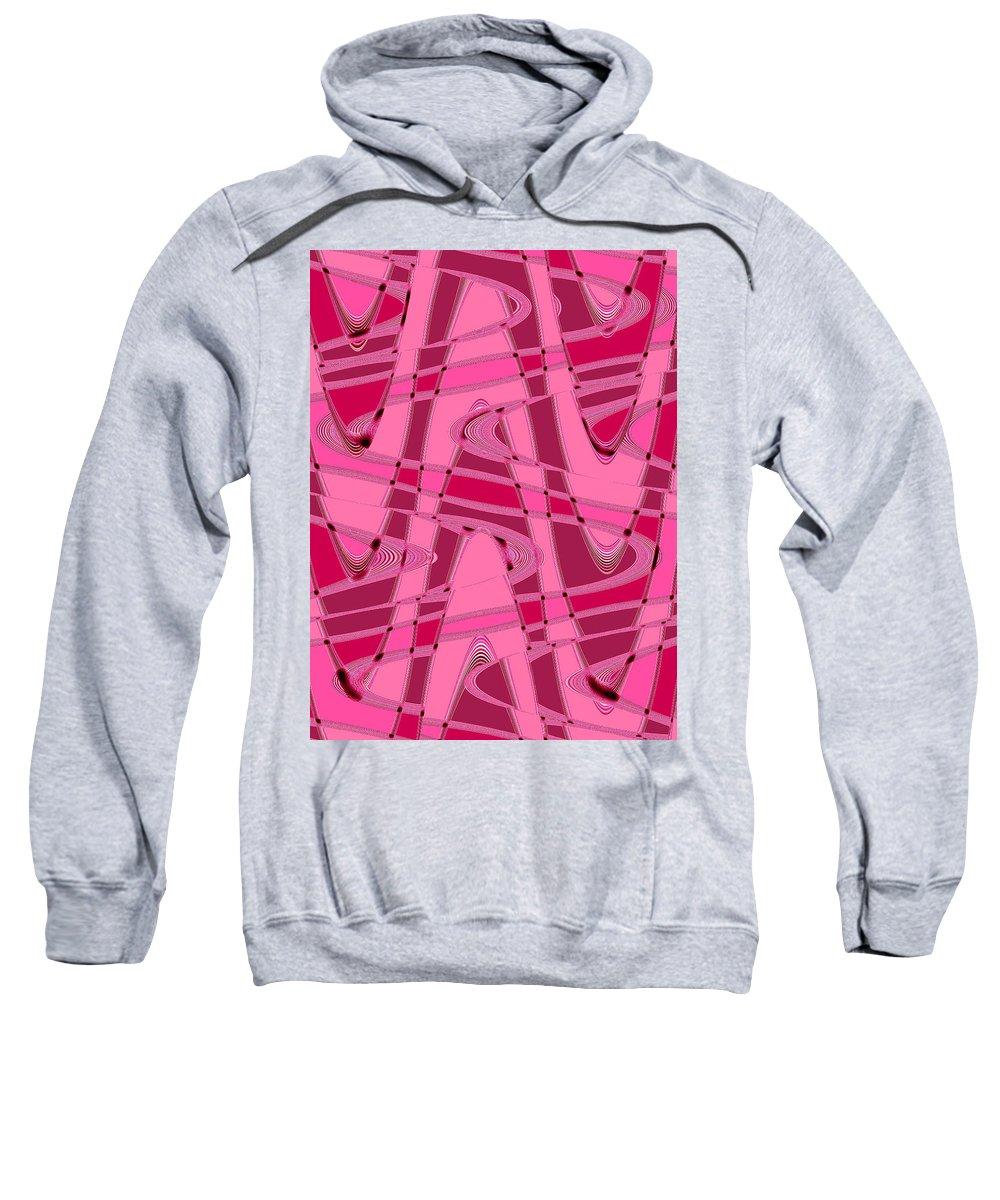 Moveonart! New York / San Francisco / Oklahoma City / Portland / Missoula Jacob Kanduch Sweatshirt featuring the digital art Moveonart Wave Time 8 by Jacob Kanduch