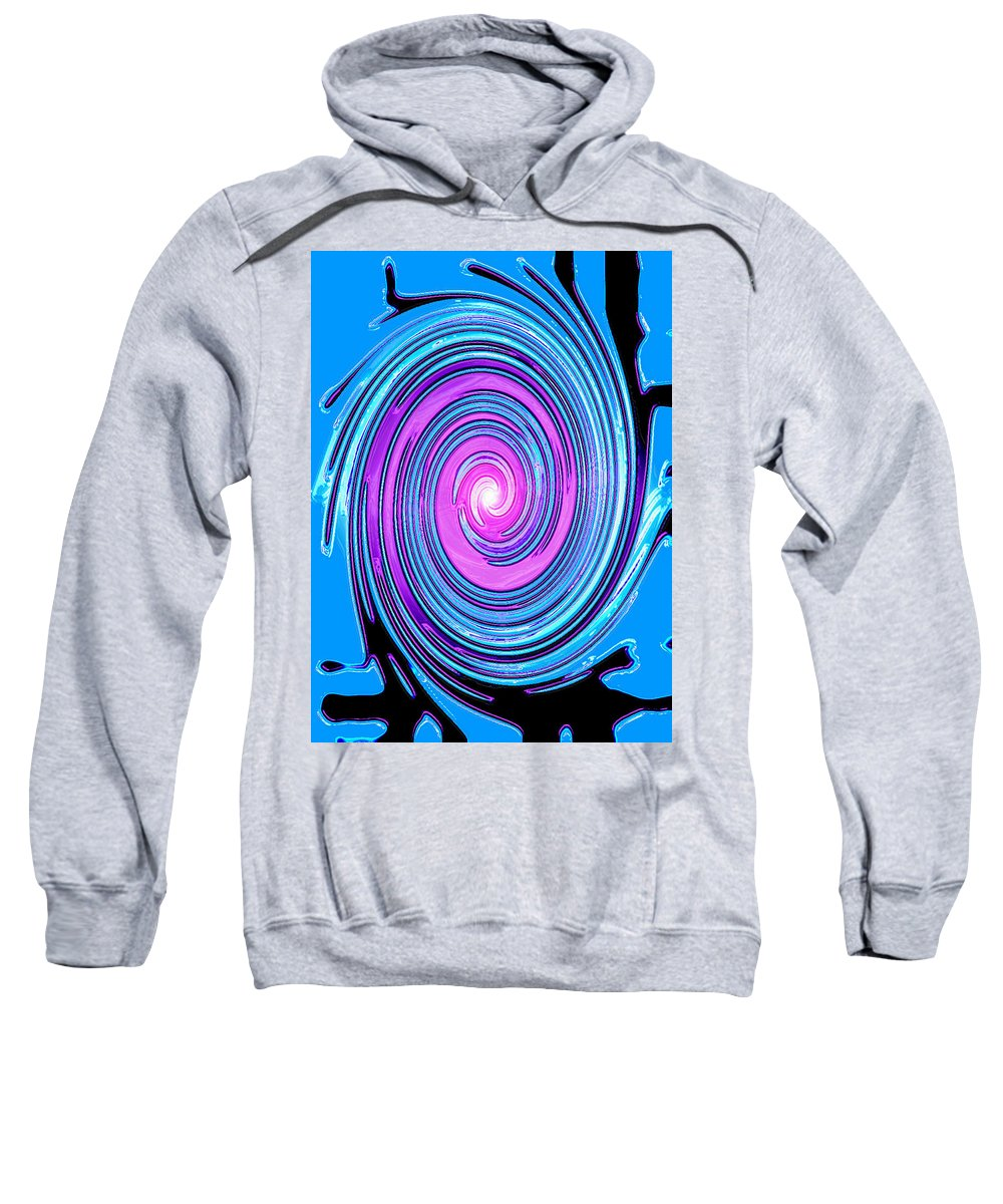 Moveonart! Digital Gallery Sweatshirt featuring the digital art Moveonart Waves Of Renewal I by Jacob Kanduch