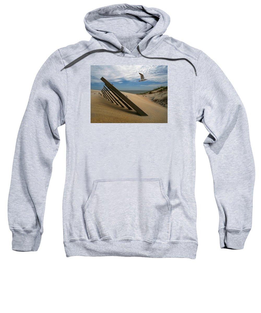 Ocean Sweatshirt featuring the photograph Moving On by Robert Och