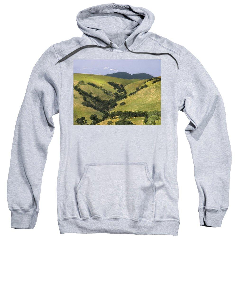 Landscapes Sweatshirt featuring the photograph Mt. Dibalo by Karen W Meyer