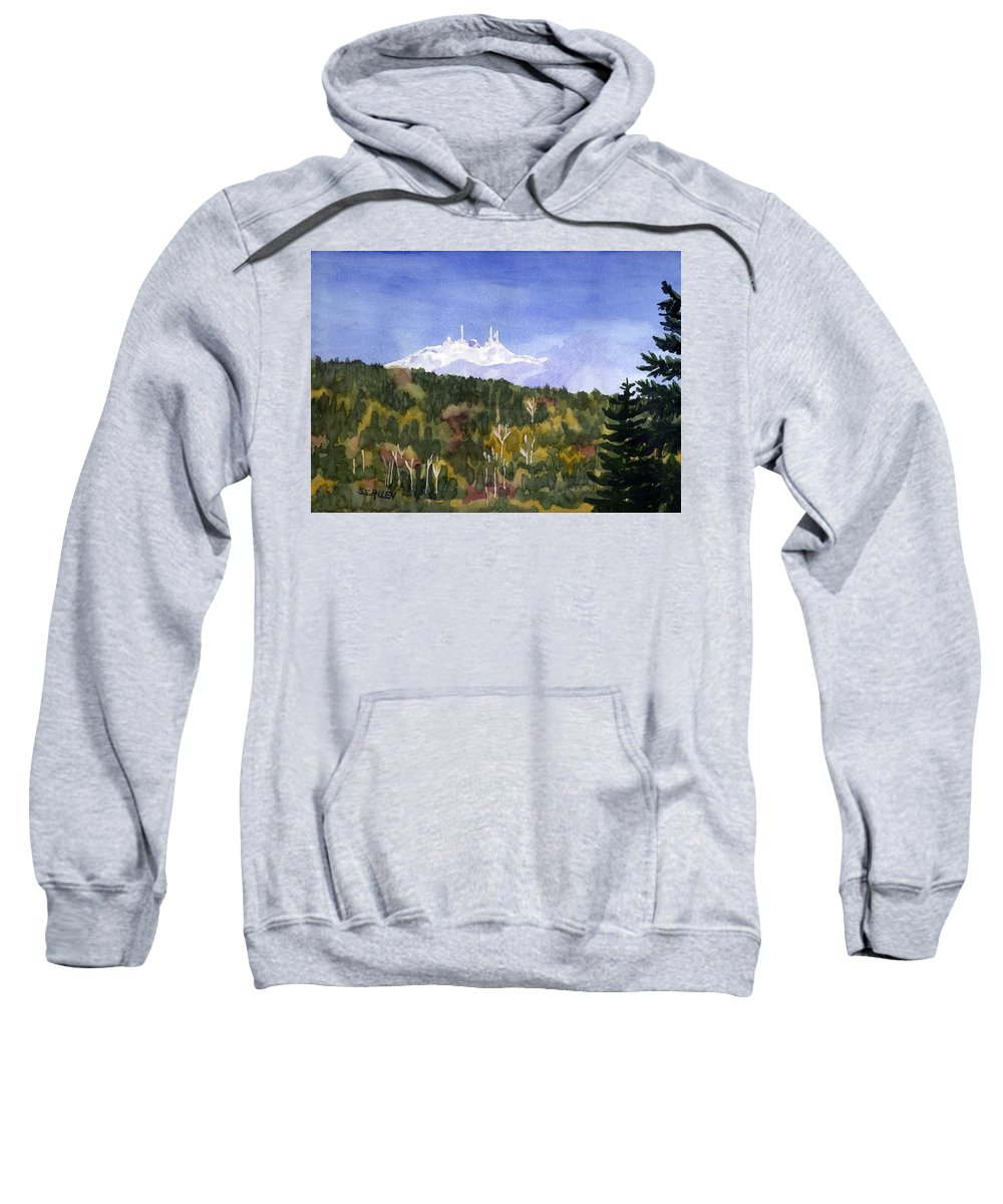 Landscape Sweatshirt featuring the painting Almost Mystical by Sharon E Allen