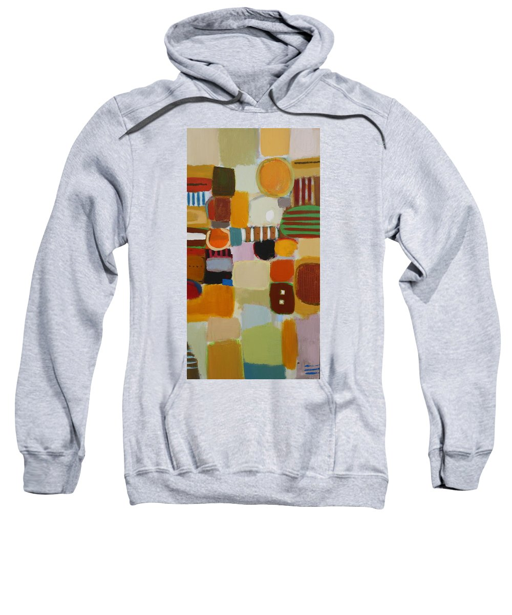 Sweatshirt featuring the painting My Ways by Habib Ayat
