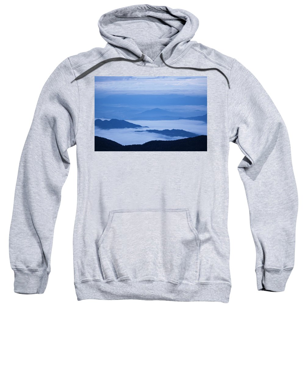 View Sweatshirt featuring the photograph Mystique by Andrew Paranavitana