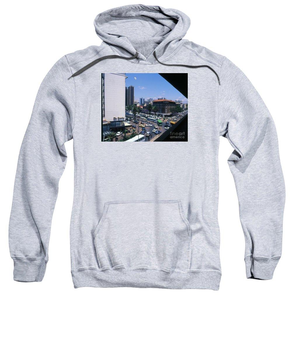 Cities Sweatshirt featuring the photograph Nairobi City by Morris Keyonzo