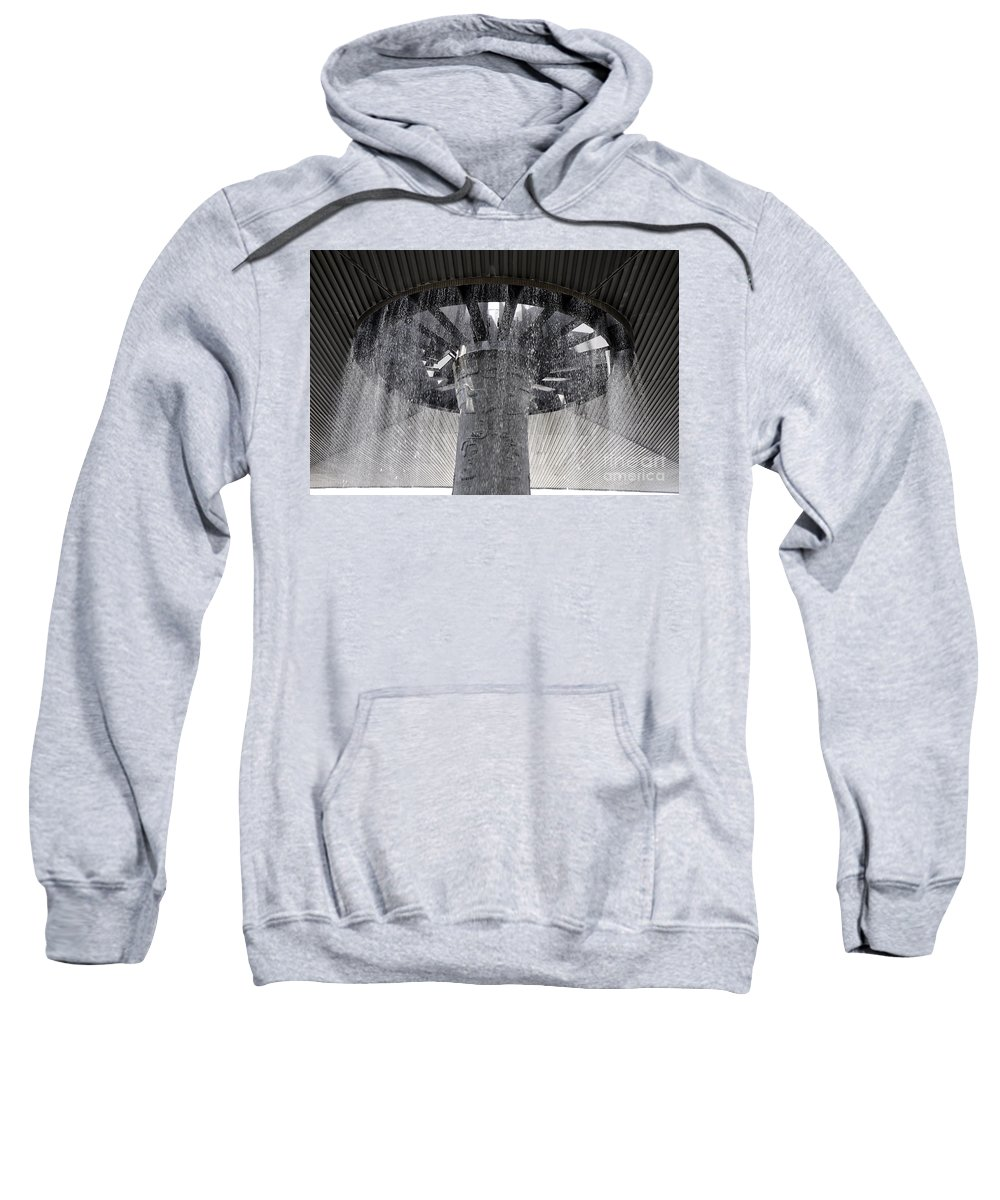 National Museum Of Anthropology Sweatshirt featuring the photograph National Museum Of Anthropology 3 by Andrew Dinh
