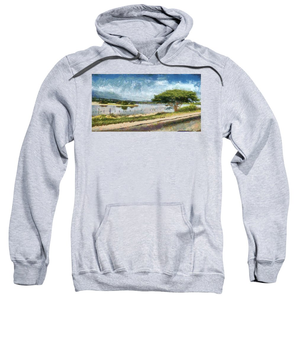 Natural Sweatshirt featuring the photograph Natural Reserve Of Cuare by Galeria Trompiz