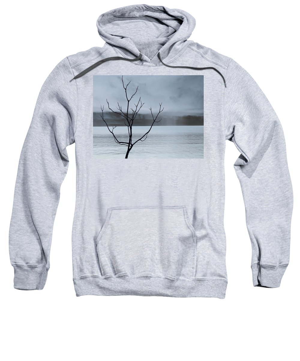 Nature Sweatshirt featuring the photograph Nature - The Naked Tree by Munir Alawi
