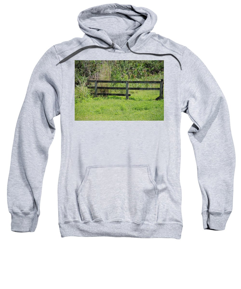 Fence Sweatshirt featuring the photograph Natures Fence by Rob Hans