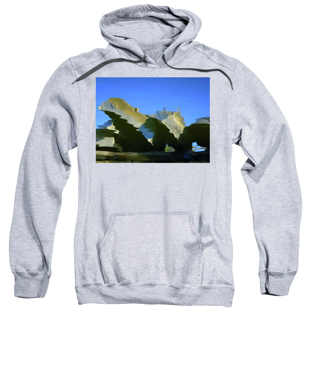 Water Sweatshirt featuring the photograph Nautical by Donna Blackhall