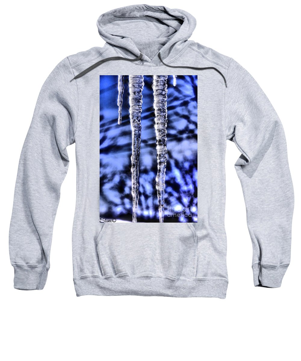 Icicles Sweatshirt featuring the photograph Nautilus by September Stone