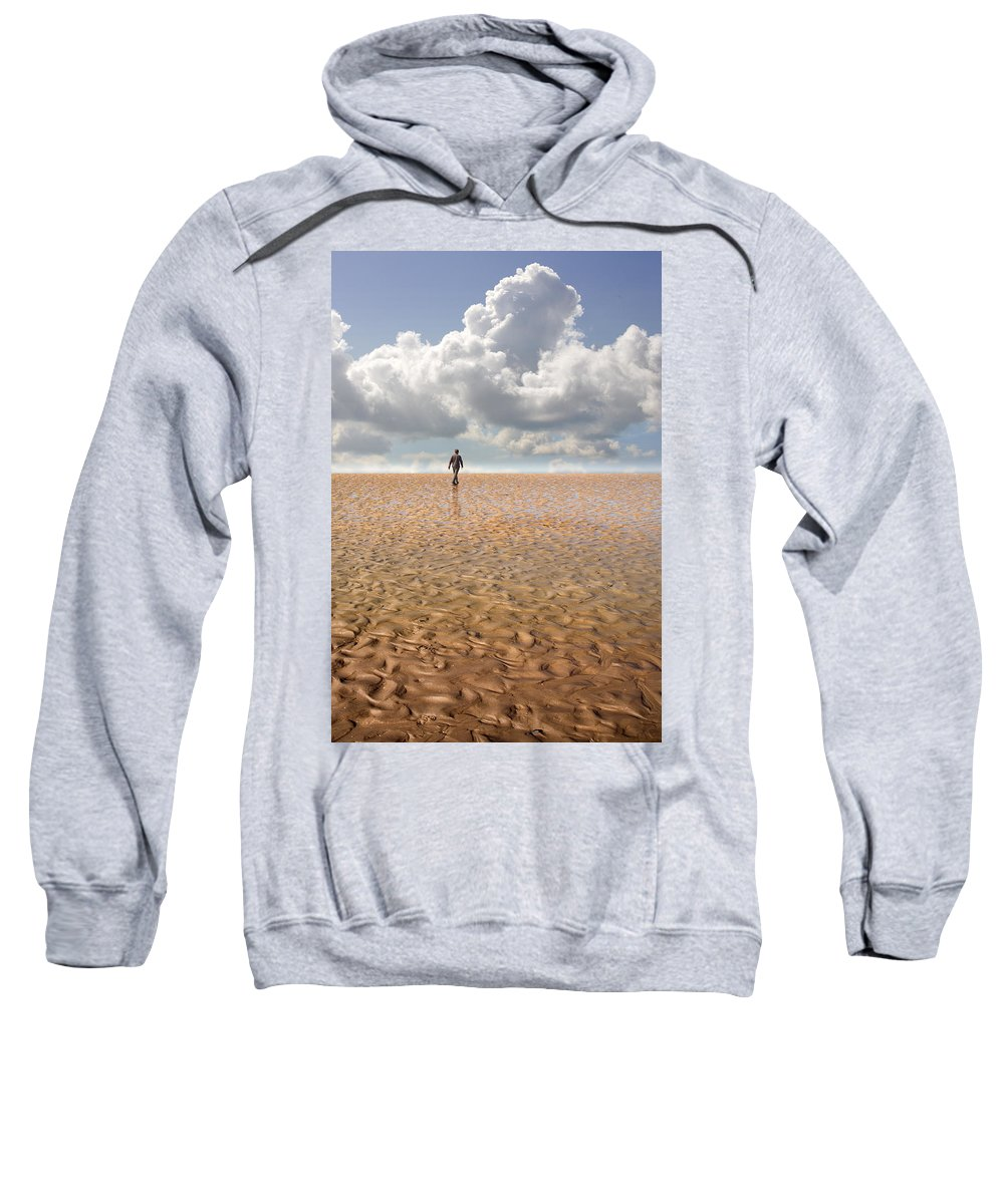 Landscape Sweatshirt featuring the photograph Never Go Back by Mal Bray