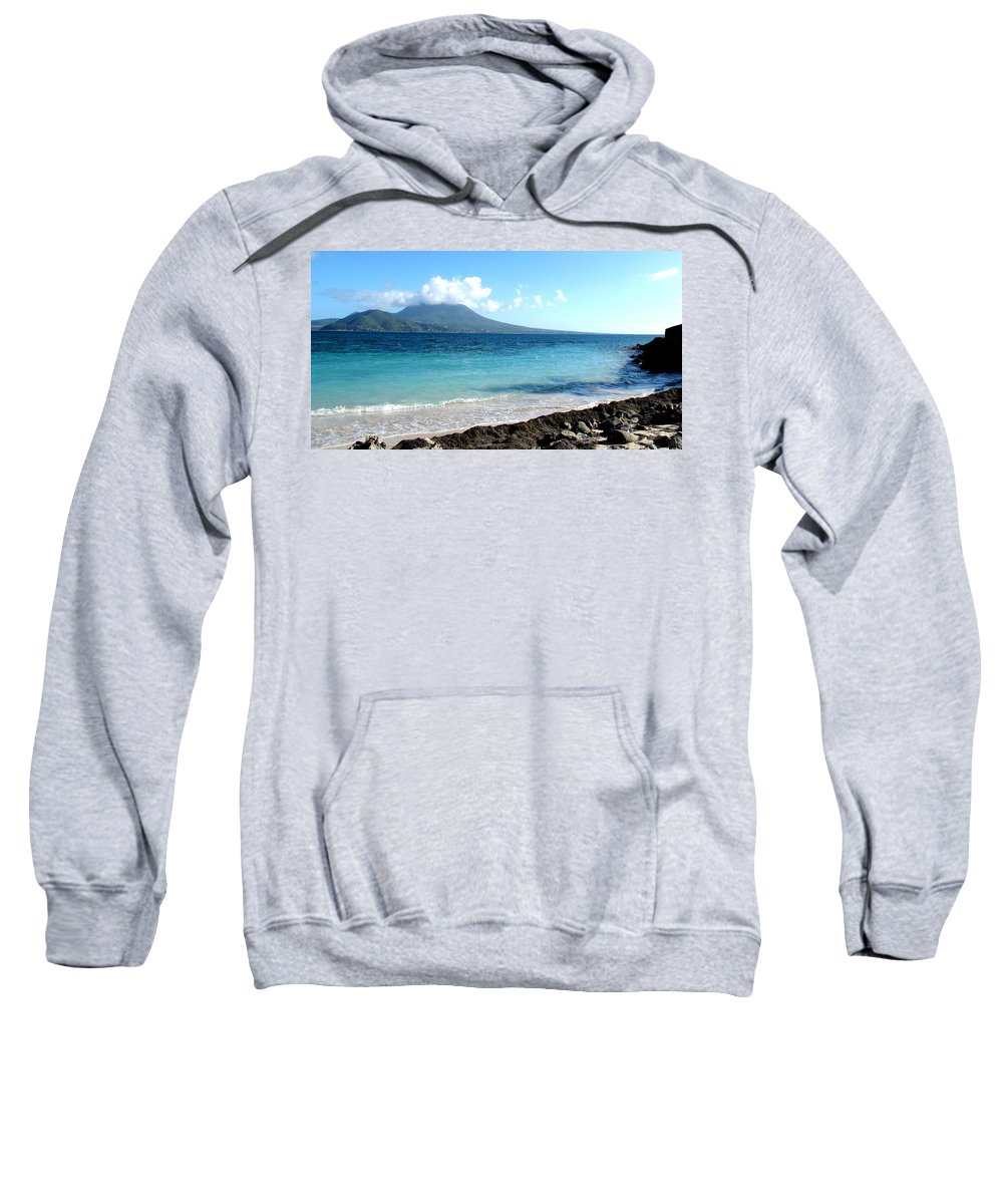 Nevis Sweatshirt featuring the photograph Nevis Across The Channel by Ian MacDonald