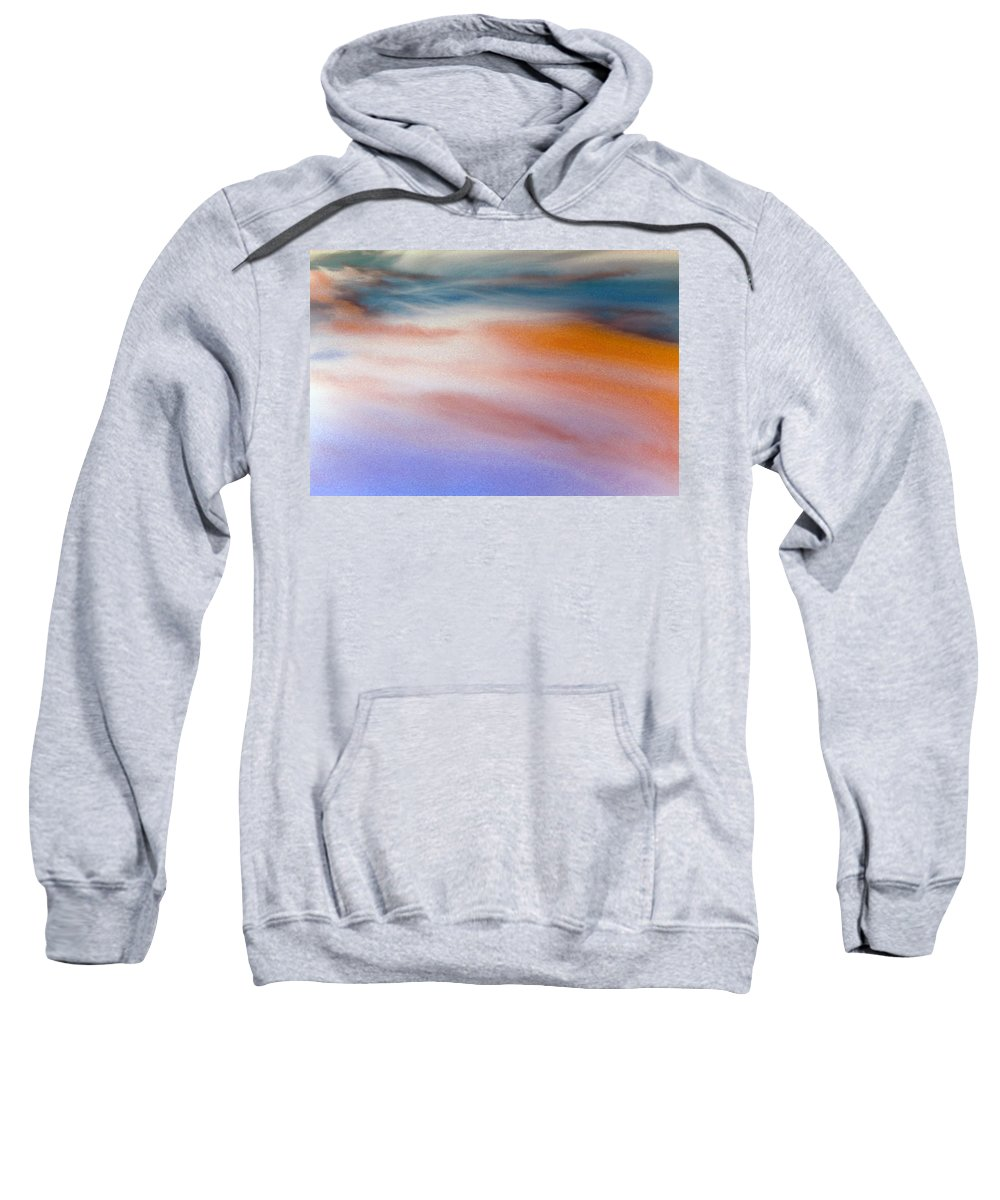 Sky Sweatshirt featuring the photograph New Day by Munir Alawi