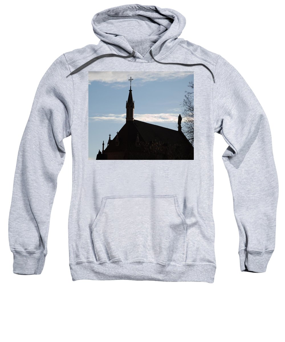 Church Sweatshirt featuring the photograph New Mexican Church by Rob Hans