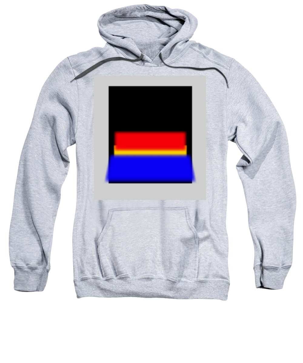 Rothko Sweatshirt featuring the painting New Reality by Charles Stuart