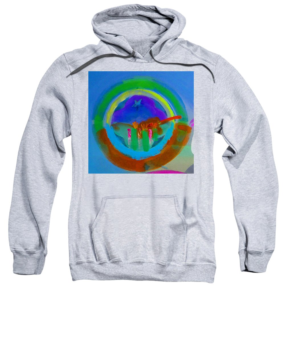 Love Sweatshirt featuring the painting New World Spring by Charles Stuart
