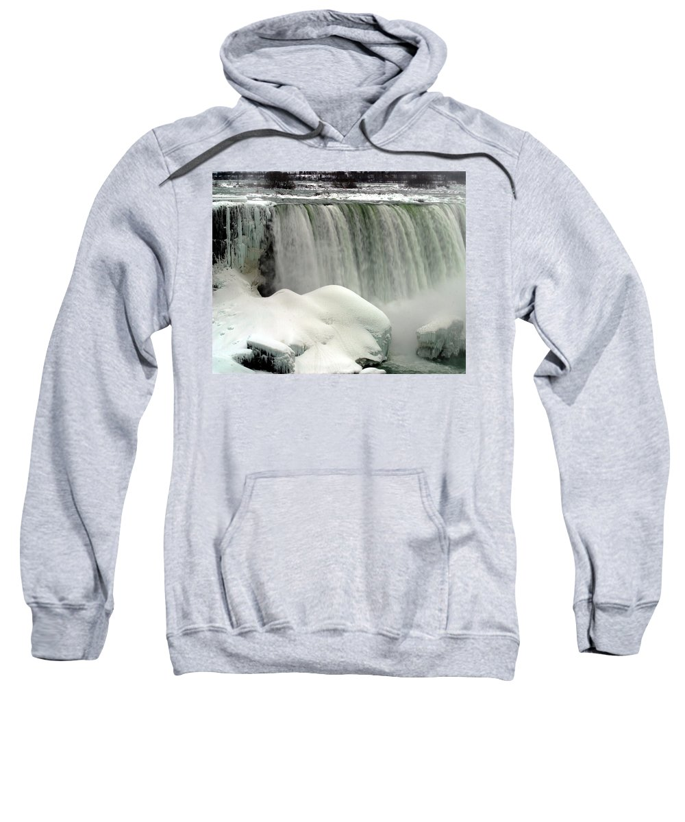 Landscape Sweatshirt featuring the photograph Niagara Falls 3 by Anthony Jones