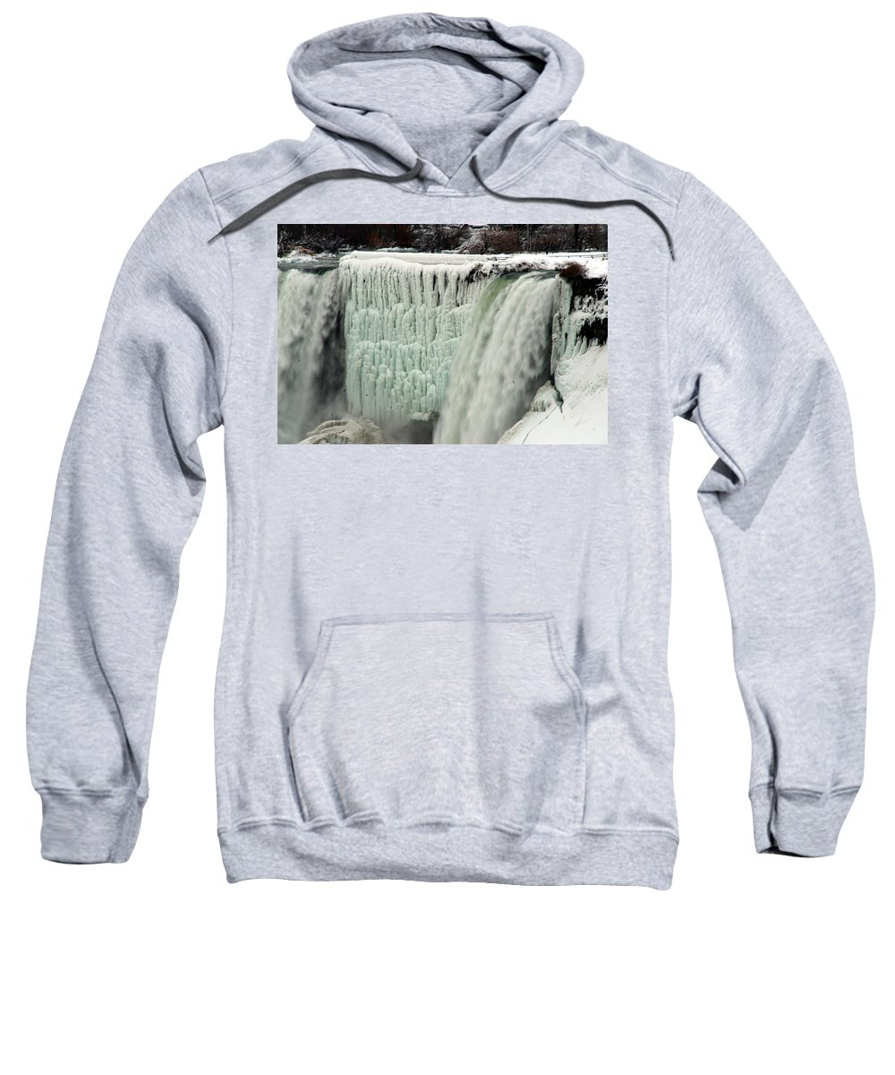 Landscape Sweatshirt featuring the photograph Niagara Falls 7 by Anthony Jones