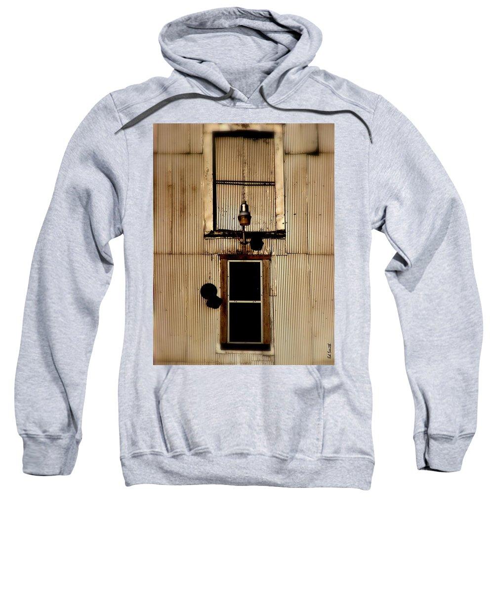 Night Light Sweatshirt featuring the photograph Night Light by Ed Smith