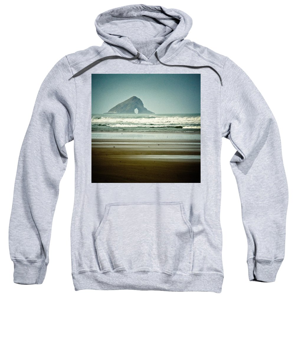 Seascape Sweatshirt featuring the photograph Ninety Mile Beach by Dave Bowman