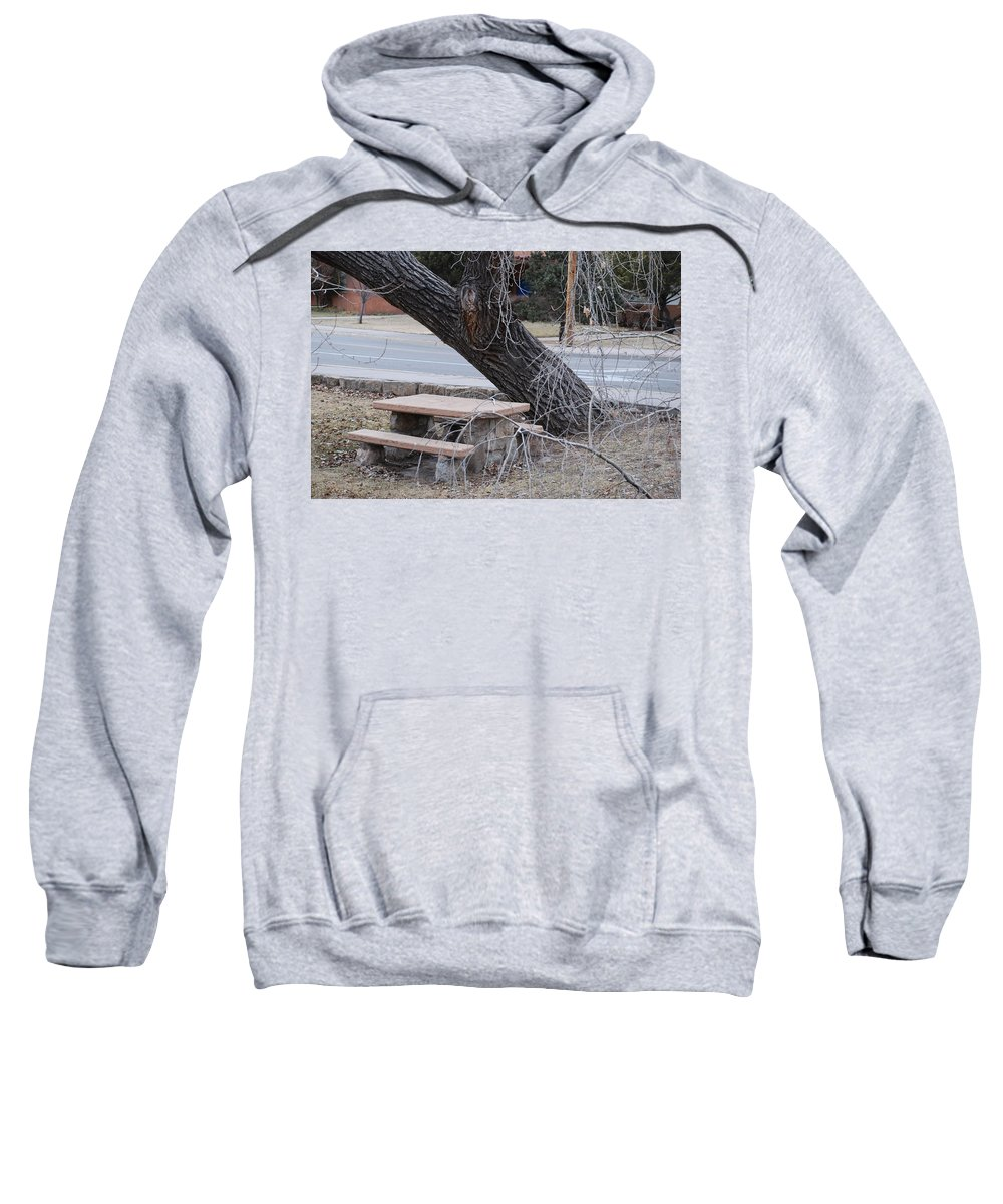 Trees Sweatshirt featuring the photograph No One Sits Here by Rob Hans