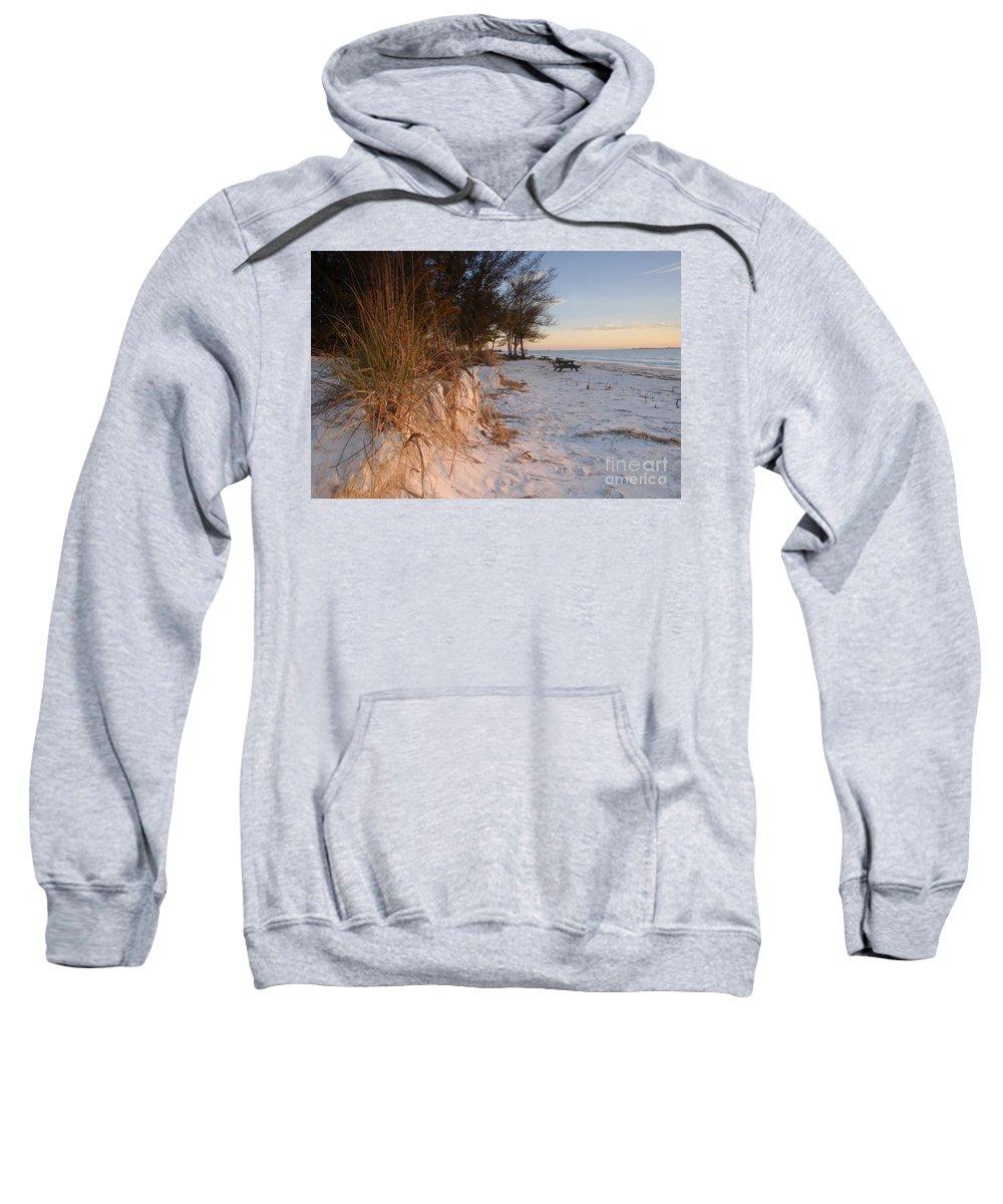 North Beach Sweatshirt featuring the photograph North Beach by David Lee Thompson