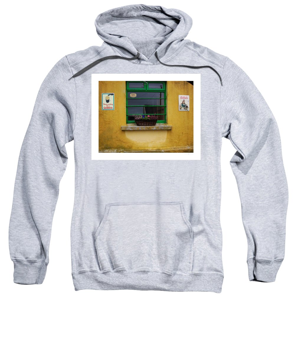 Ireland Sweatshirt featuring the photograph Nothing Like A Guinness by Tim Nyberg