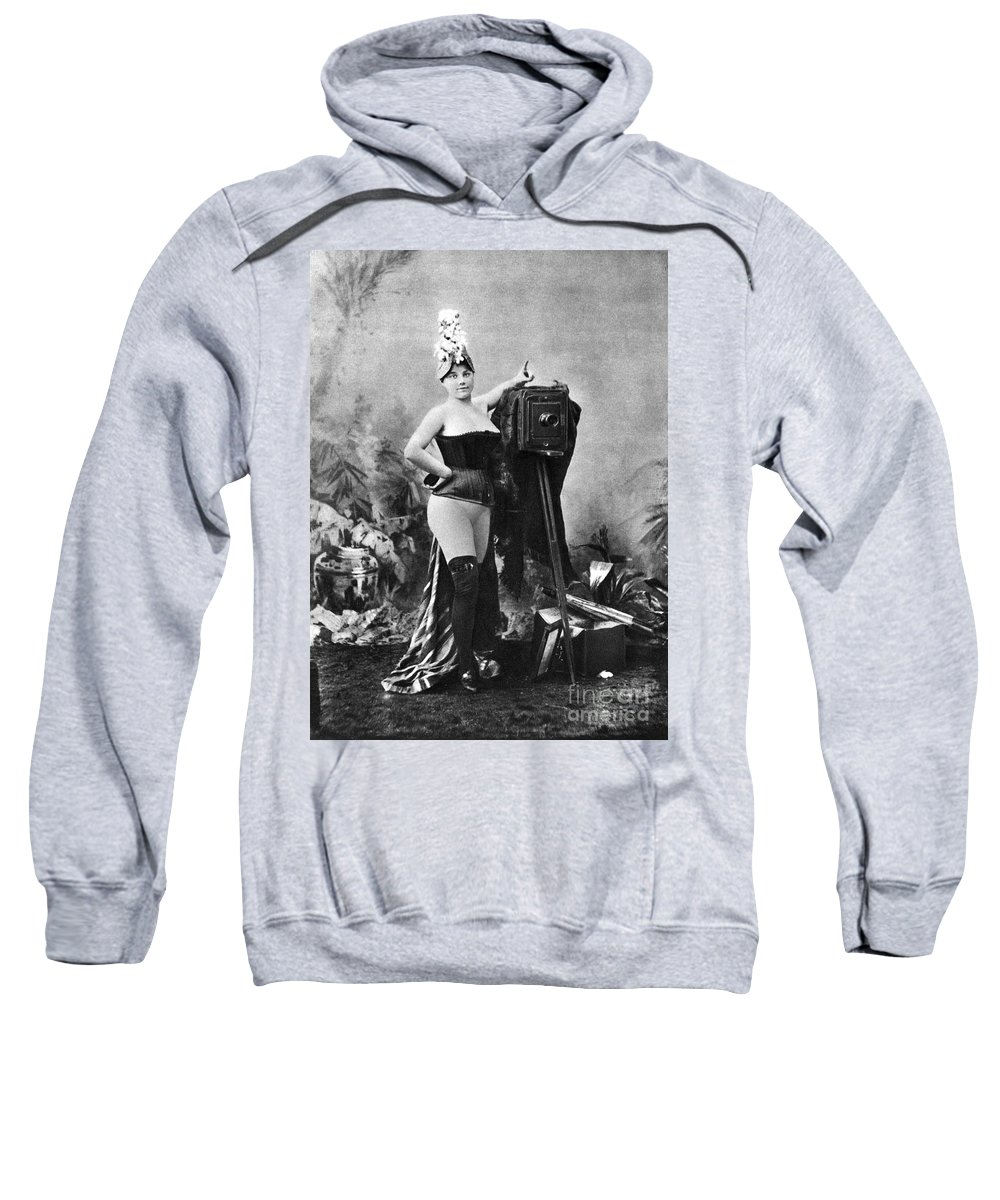 Sweatshirt featuring the painting Nude And Camera, C1880 by Granger