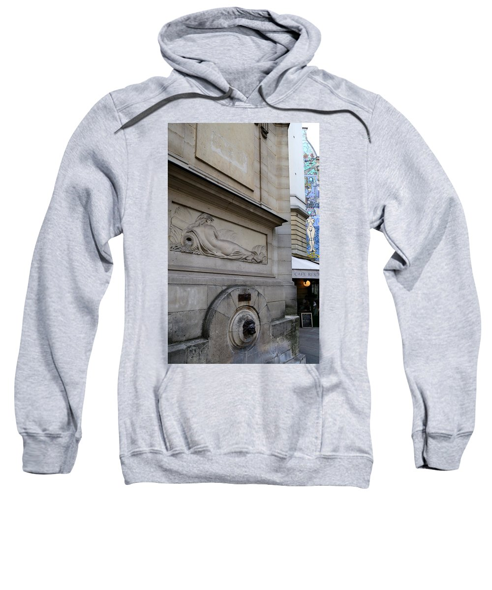 Nudes Sweatshirt featuring the photograph Nudes Old And New by Andrew Fare
