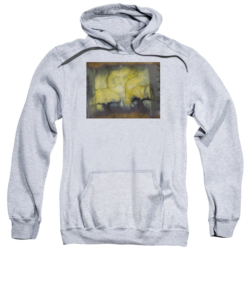 Jan Sweatshirt featuring the mixed media Number 39 by Jan Durham