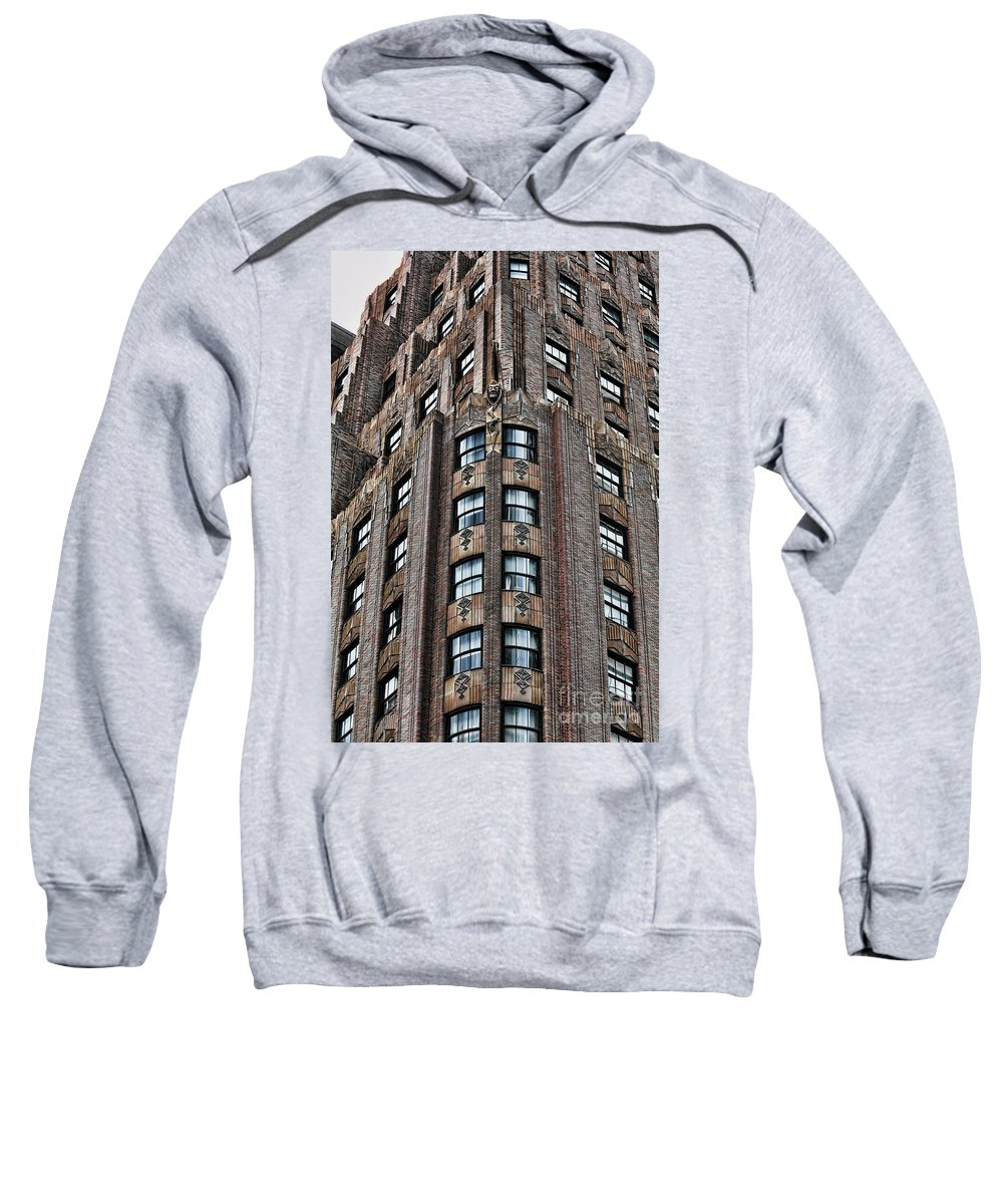 New York Sweatshirt featuring the photograph Ny Brick 11 by Chuck Kuhn