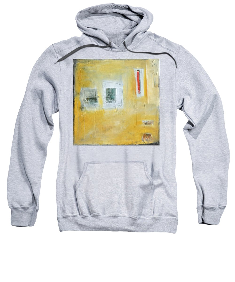 Abstract Sweatshirt featuring the painting Oasis by Tim Nyberg