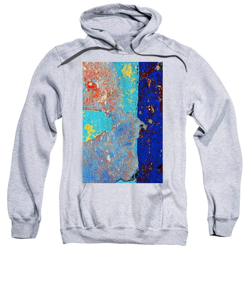 Skip Sweatshirt featuring the photograph Occupation by Skip Hunt