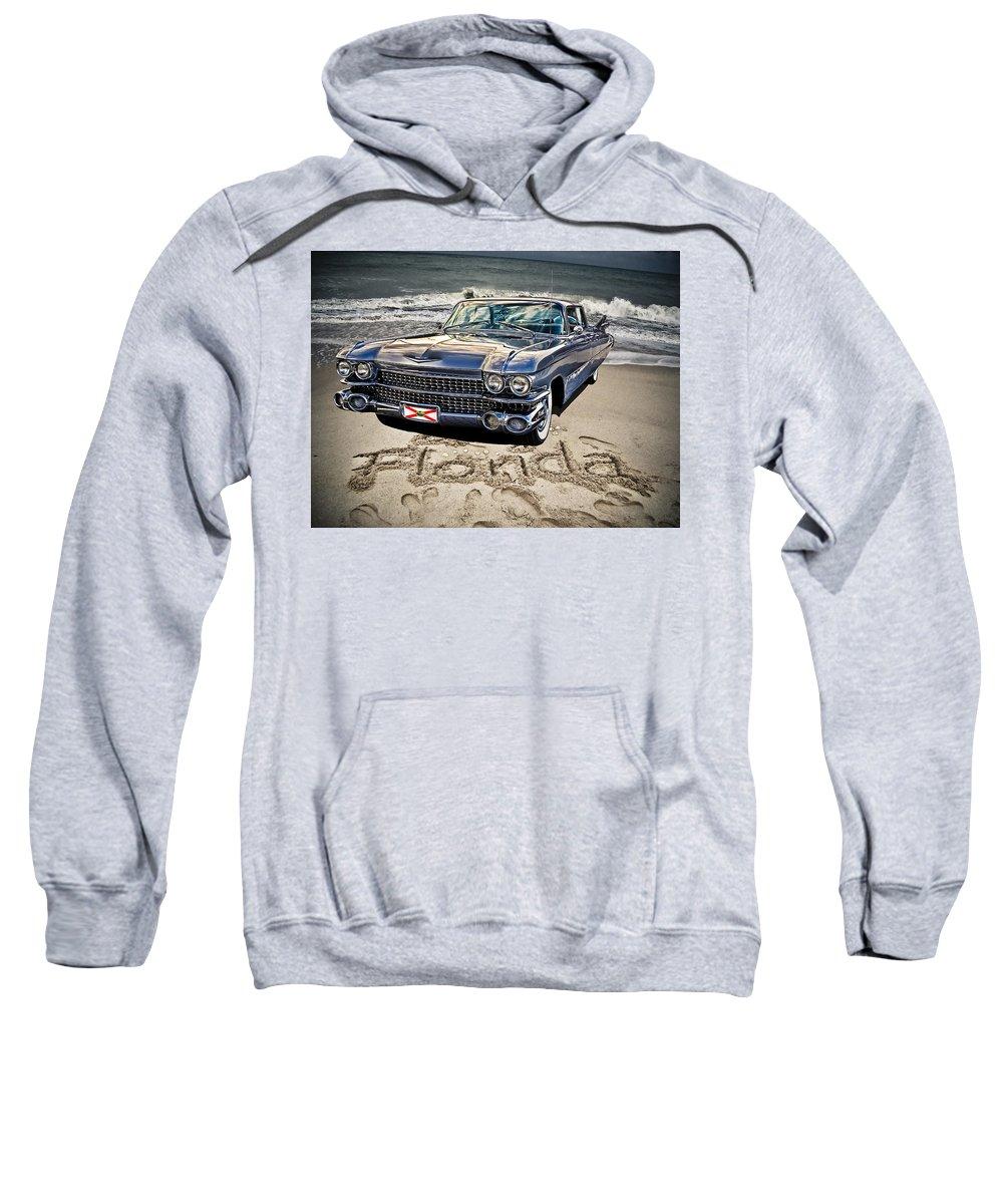 Cadillac Sweatshirt featuring the photograph Ocean Drive by Joachim G Pinkawa